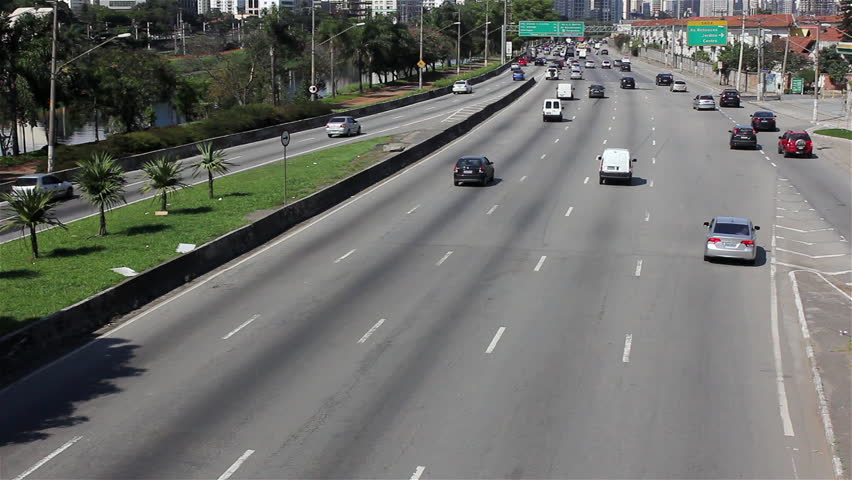 Street of Sao Paulo city - Brazil | Shutterstock HD Video #4359026