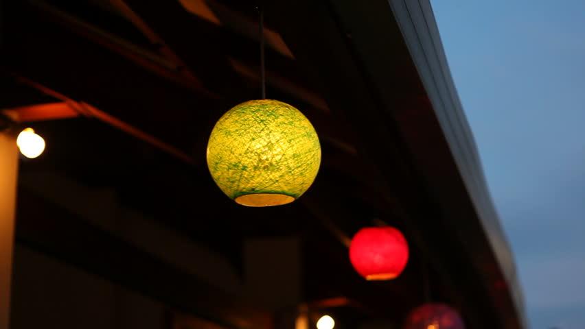 Oriental lanterns. Change in focus. | Shutterstock HD Video #4366616