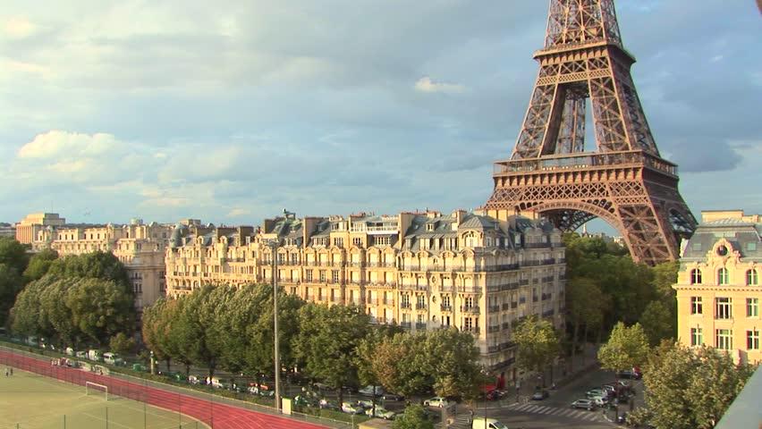 Eiffel Tower The Eiffel Tower in Paris, France.