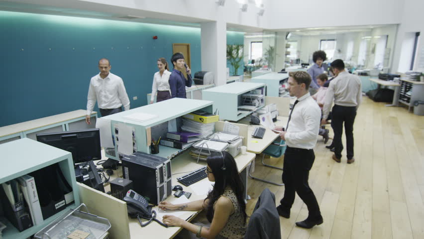 group contemporary office. Attractive Young Multi Ethnic Group Working Together As A Team In Busy Modern Office Or Contemporary I