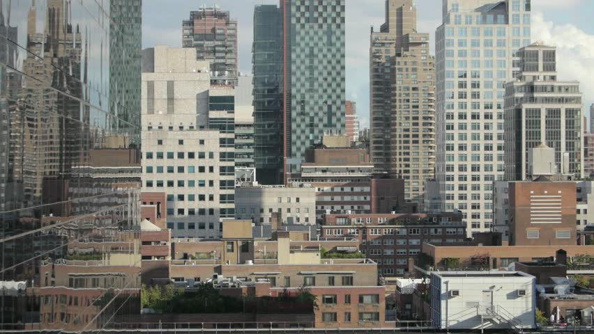 Skyline. cityscape. high rise. modern architecture.    Shutterstock HD Video #4435586