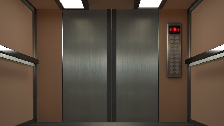 Opening Doors In Modern Elevator Animation With Al-fa Channel Stock Footage Video 4491866 | Shutterstock & Opening Doors In Modern Elevator Animation With Al-fa Channel Stock ...
