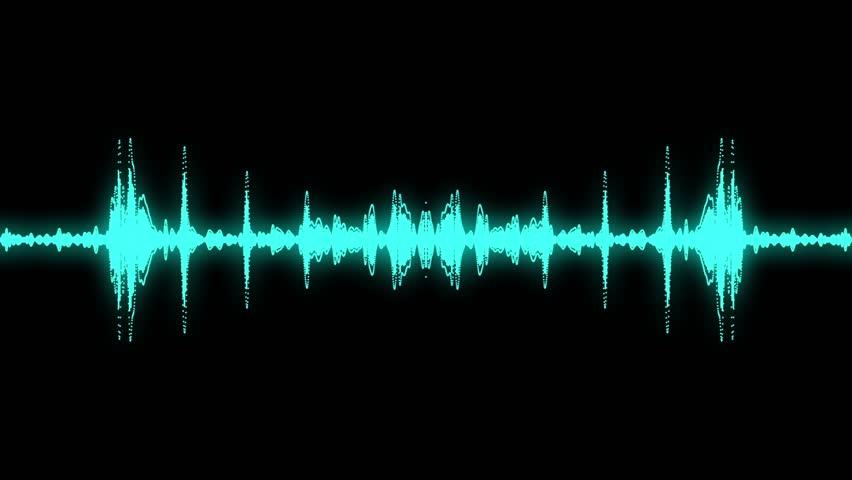 Audio specturm sky blue colour #4515926