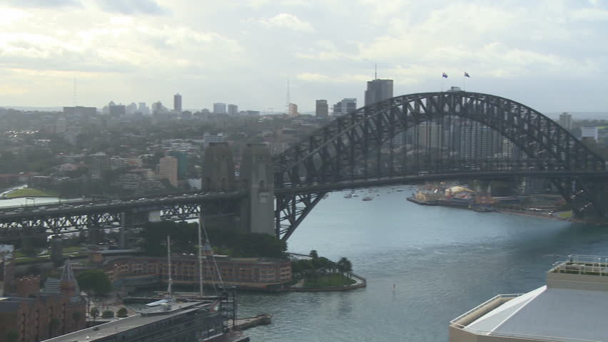 A panoramic view of Sydney during the day (2 of 2)