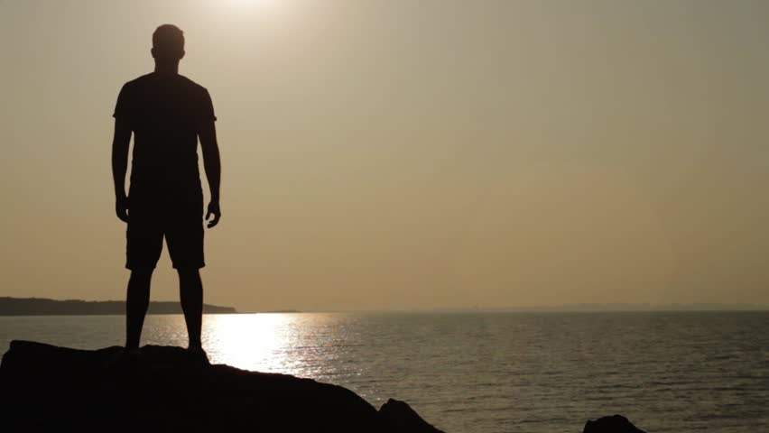 The gallery for --> Man Walking Alone Sad