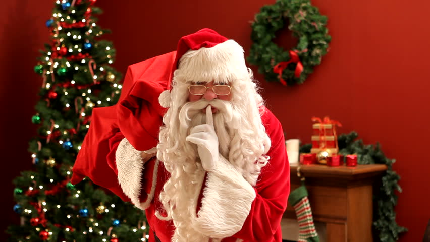 Image result for shh santa