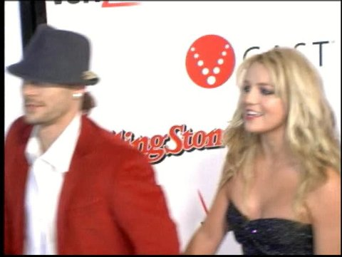 HOLLYWOOD - February 6, 2006: Britney Spears and Kevin Federline at the Kanye West Pre Grammy Concert 2006 in the Avalon in Hollywood February 6, 2006