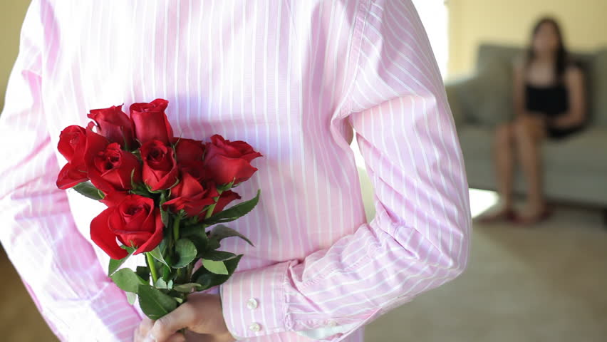 Valentines Day Surprise Stock Footage Video 100 Royalty Free