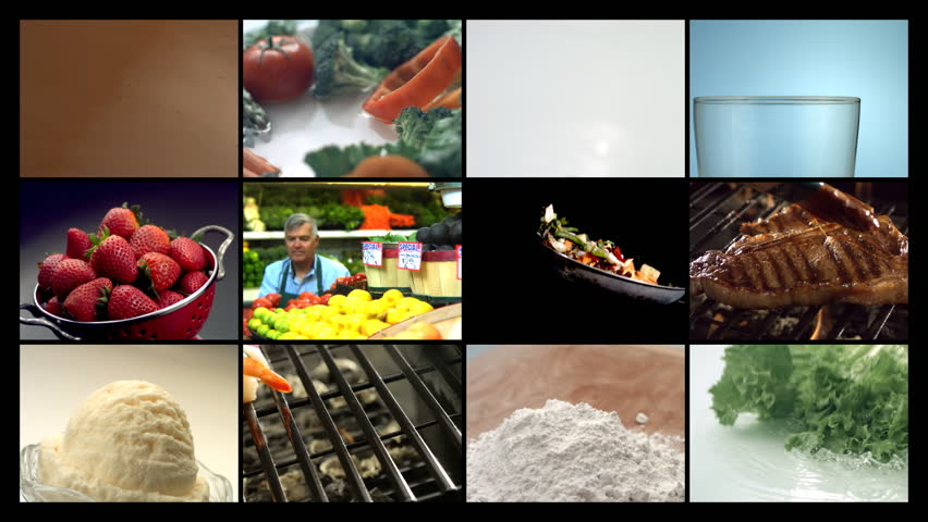 Food, video montage