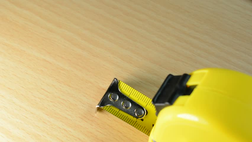 Roll of measuring tape