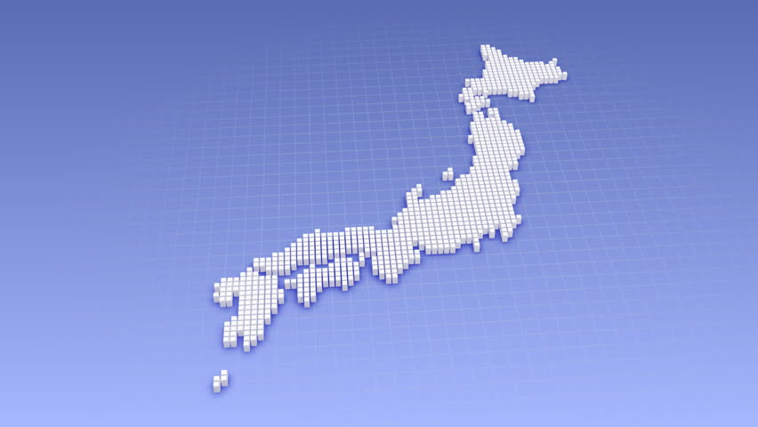 Japan Map Images Stock Footage Video Shutterstock - Japan map hd