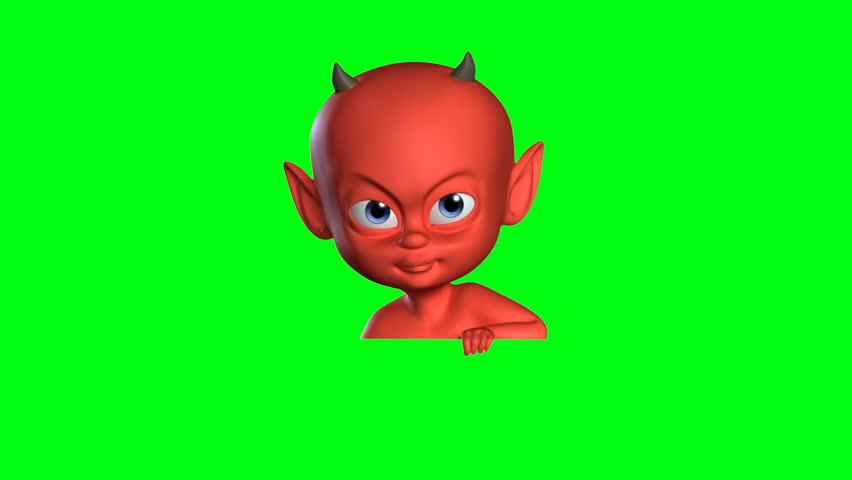 Devil boy animation