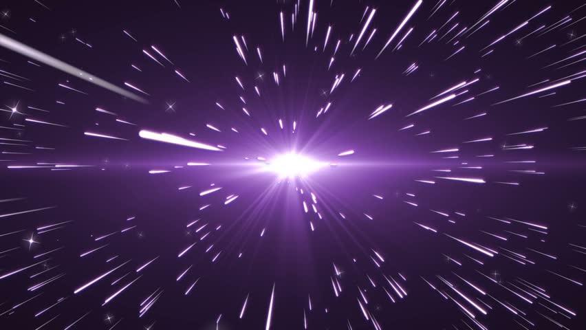 Comet Purple star stream #4686266