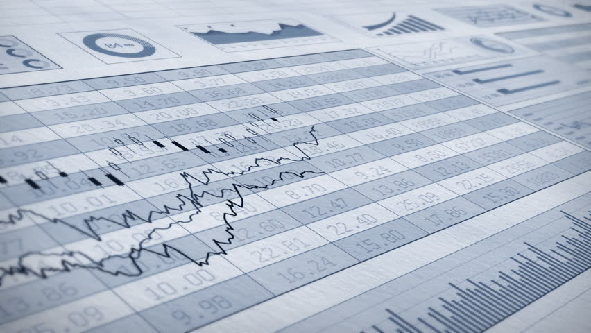Stock market trend of animation; Seamless looping | Shutterstock HD Video #4687283