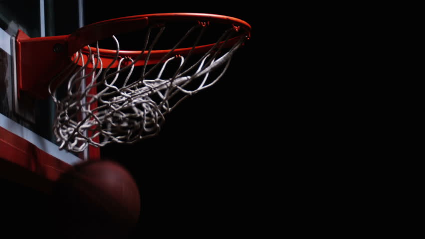 Close up of a basketball falling through the hoop for two points close up of a basketball falling through the hoop for two points stock footage video 4712276 shutterstock voltagebd Images