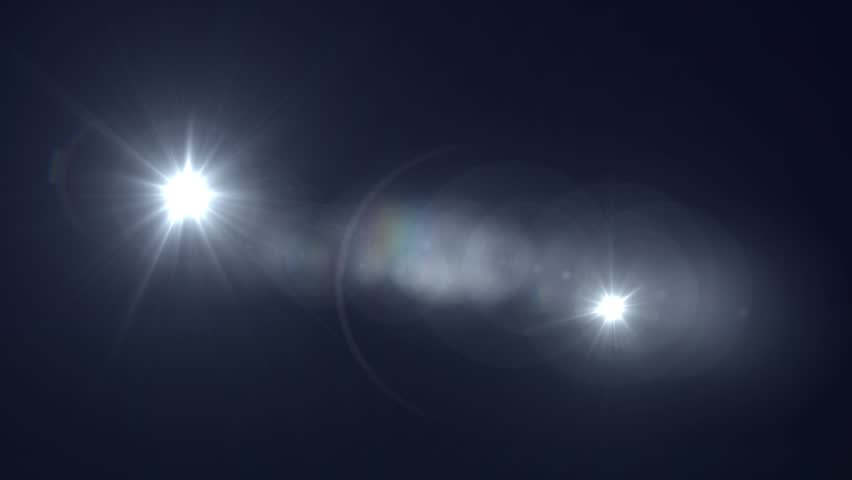 White Lens Flare Abstract Background | Shutterstock HD Video #4801760