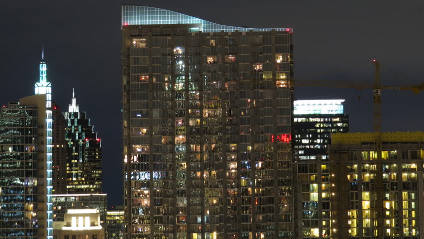 Modern Architecture Videos the atlanta skyline time lapse of modern architecture building at