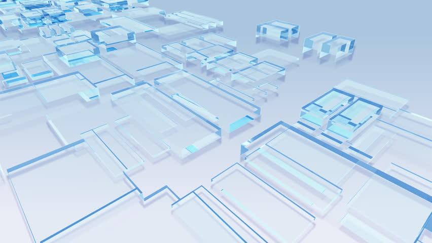 "Crystal Blocks. ""Gl_blo_Ca""   Shutterstock HD Video #484036"