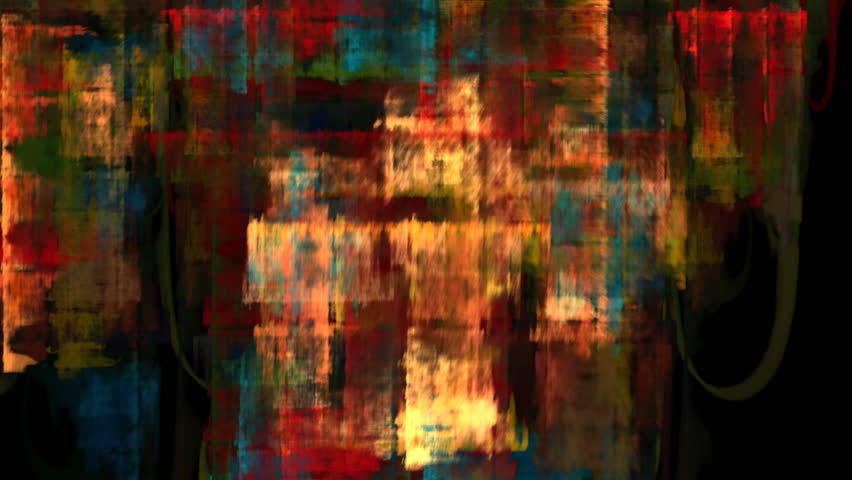 Hd 720p Wide Screen Abstract Geometric Loop Of Changing