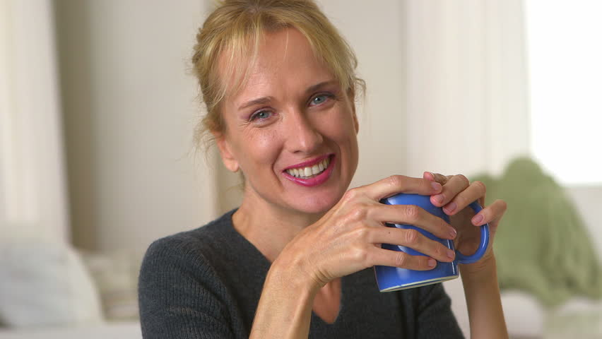 Middle Aged Woman Stock Footage Video  Shutterstock-3233