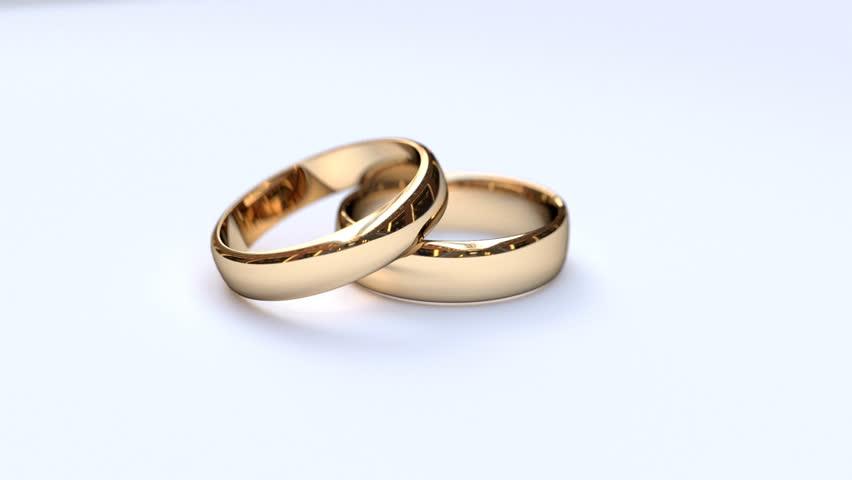Wedding Rings Stock Footage Video 5019446 Shutterstock