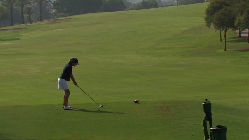Female Golf Stock Video Footage 4K and Clips HD Video Clips and   Shutterstock 58d23a