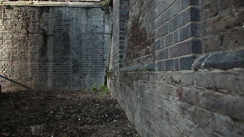 Brick Wall Corner In London Stock Footage Video 100 Royalty Free 5062886 Shutterstock