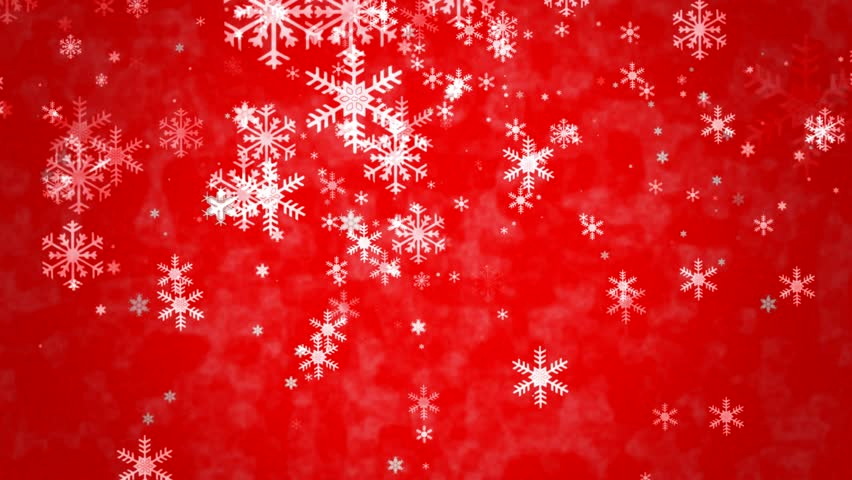 <b>Red</b> seamless <b>snowflakes background</b> Vector Image #89860
