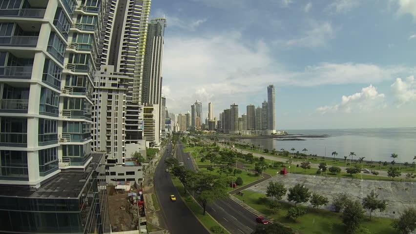 Beautiful view of Panama City