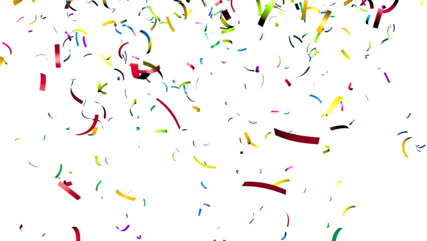 Animation of Colorful Confetti Falling Stock Footage Video (100%  Royalty-free) 5089676 | Shutterstock