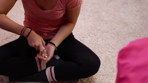 The deadly effect of teen girl abusing prescription drugs.