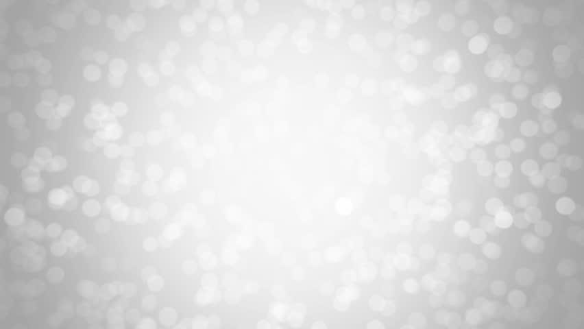 White glitter background - seamless loop, winter theme