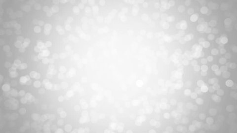 White glitter background - seamless loop, winter theme