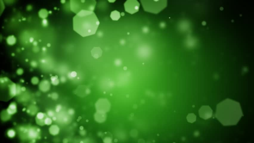 High quality 20 seconds looping animation of abstract dark green Christmas background with bokeh defocused lights (seamless loop, HD, high definition 1080p)