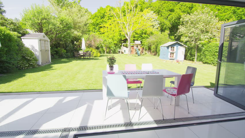 Garden Furniture Footage Stock Clips