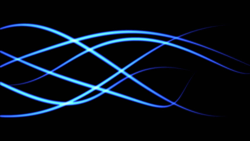 abstract blue light lines - photo #9