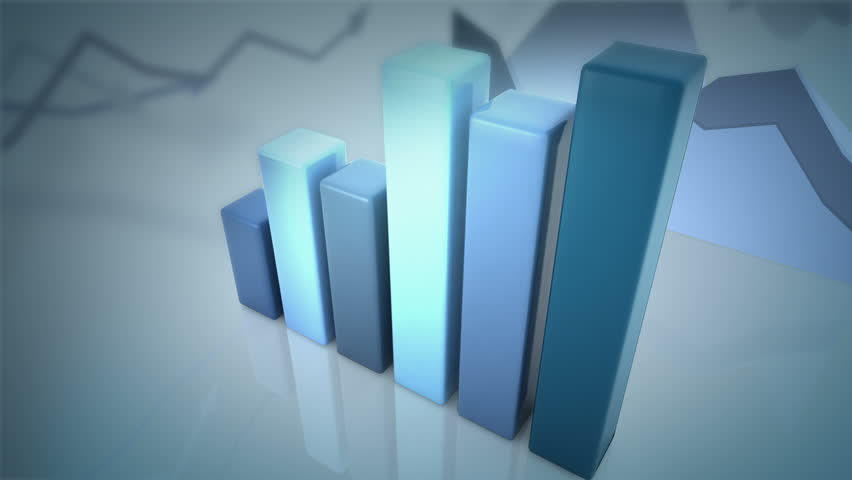 Growing and changing graphs. seamless looping 3d animation | Shutterstock HD Video #5165123