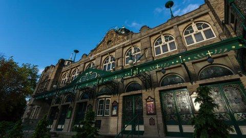 Royal Hall Theatre in Harrogate timelapse