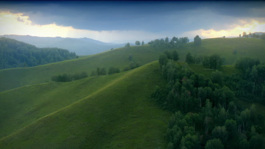 Green hills timelapse. | Shutterstock HD Video #517447
