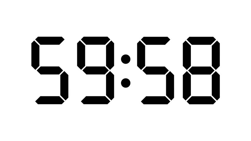 Countdown Numeric For Presentation, Opening Event