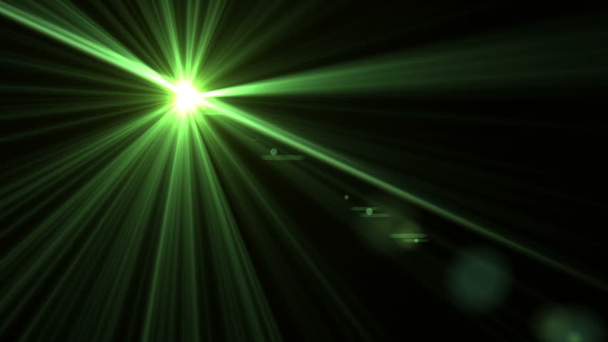 Green Light Effects Stock Footage Video: Green Light Effects Stock Footage Video