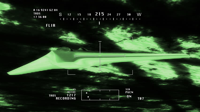 FQ 170 Sentinel Drone Flying Nightvision 3D Artwork