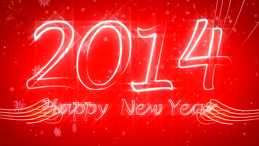 Happy New Year 2014 growing style ( Series 3 - Version from 1 to 15 )