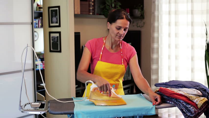 Images - Ironing clothes