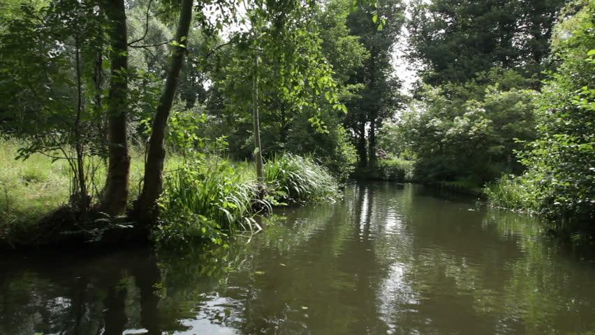 Boat trip Spreewald near Berlin, Germany #4 | Shutterstock HD Video #5341736