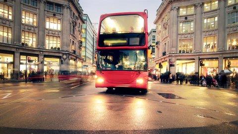 OXFORD STREET LONDON TIME-LAPSE  HD