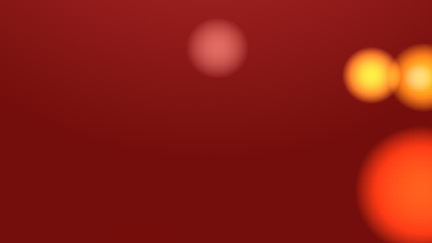 Blurred Lights Background (Red) Background with shimmering blurred lights. Seamless loop.