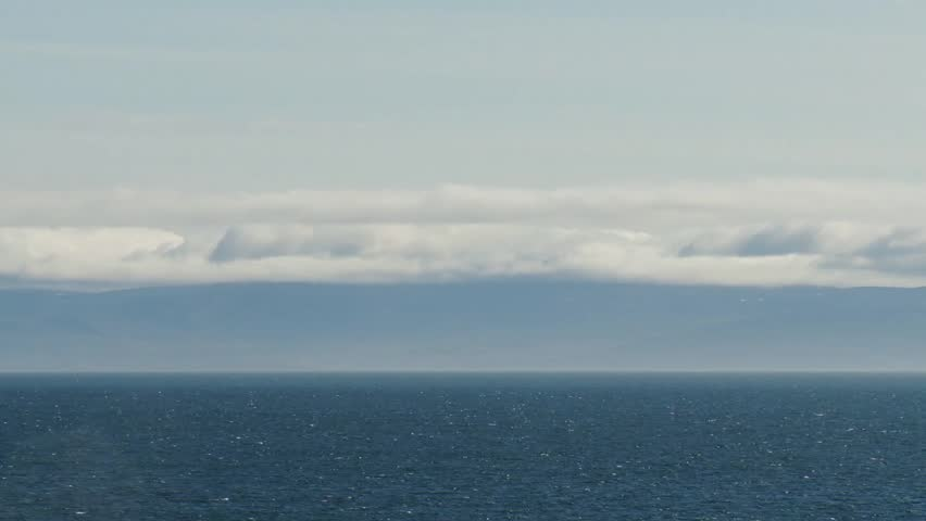 The Arctic Ocean.