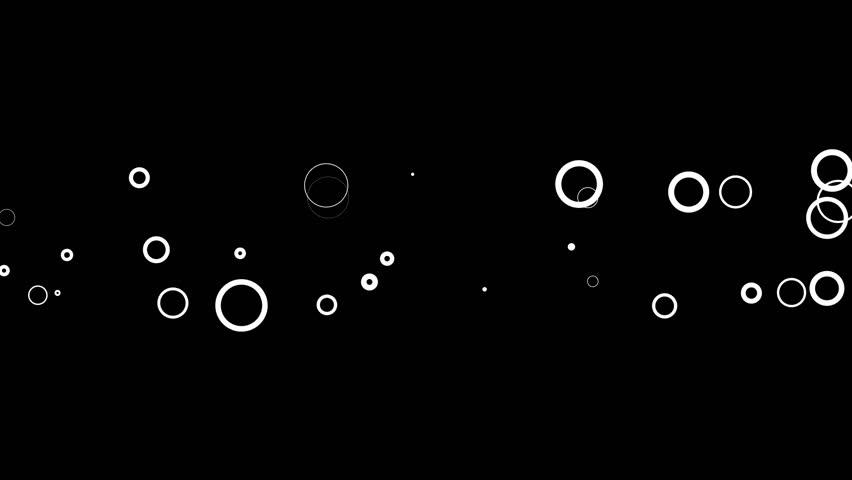 Digital Rings on Black Background in HD 1080p | Shutterstock HD Video #5416526