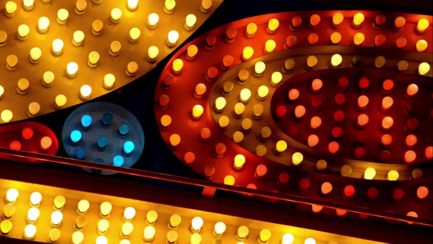 red yellow and blue marquee lights #5432786